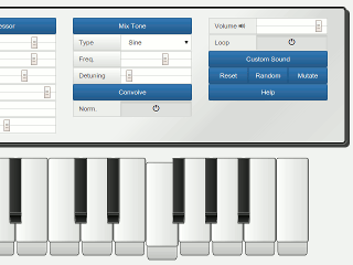 X Piano Screenshot